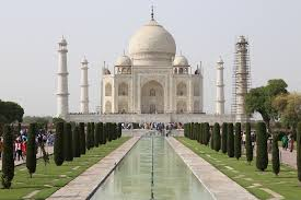 The Taj Mahal of the city of Agra