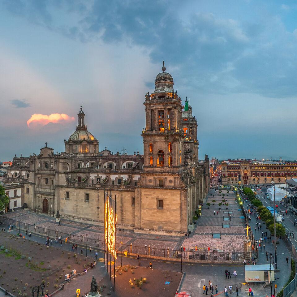 The Zocalo Mexico City