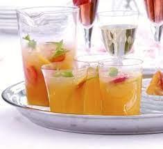 Citrus peach cooler