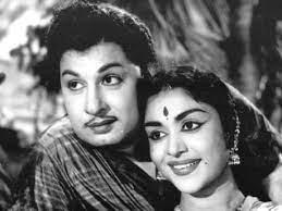 MGR and Saroja Devi