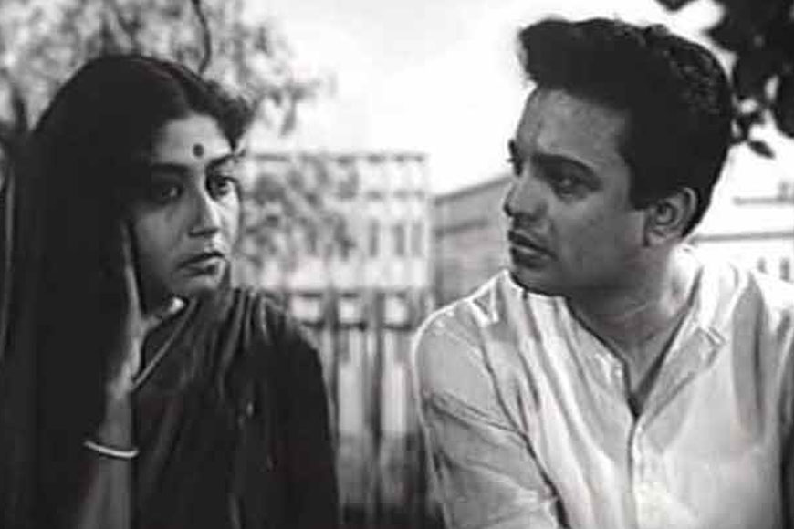 Uttam Kumar and Sabitri Chattopadhyay