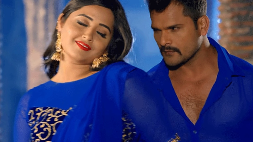 Khesari Lal Yadav and Kajal Raghwani