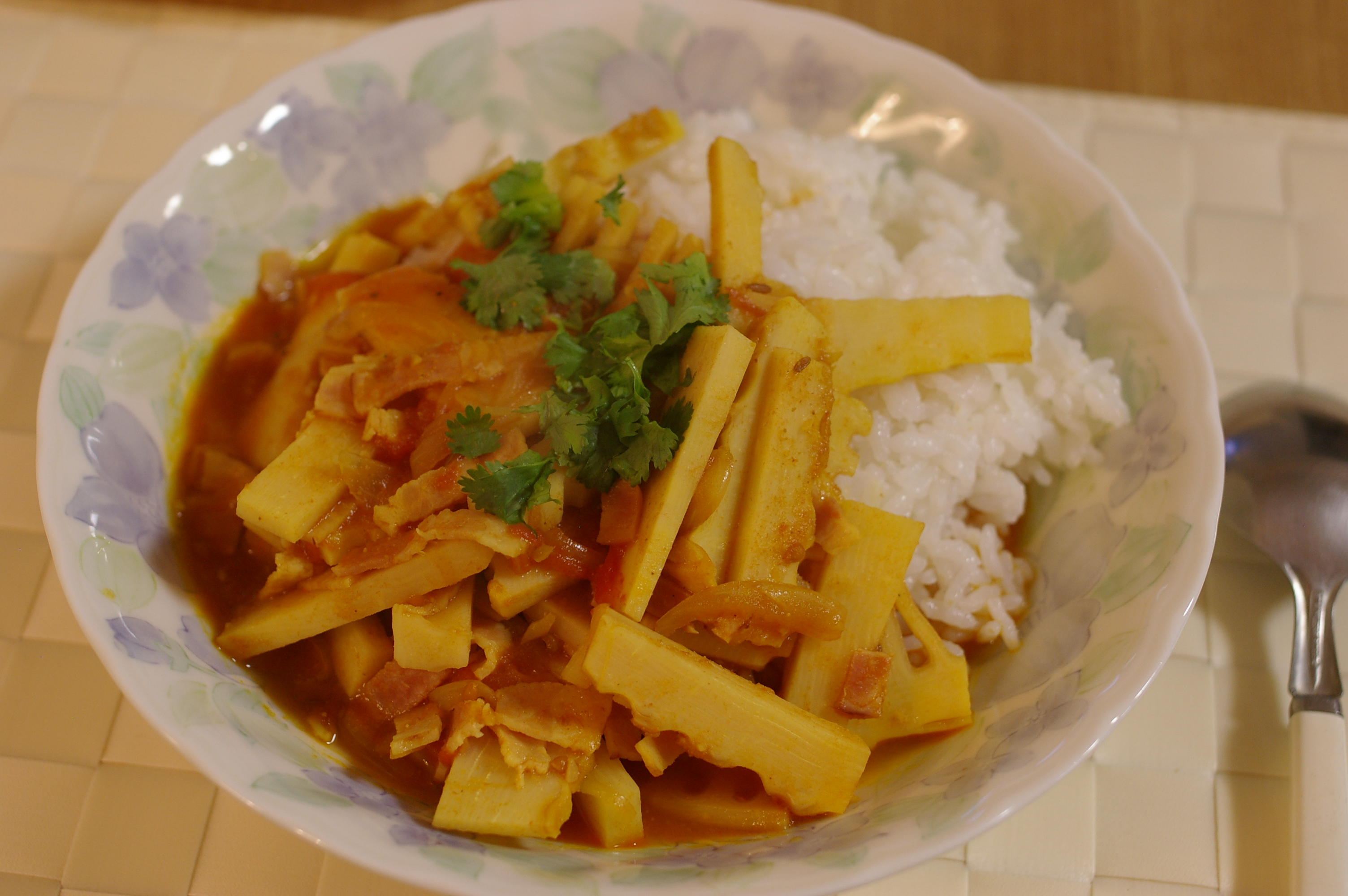 Bamboo Shoots Curry