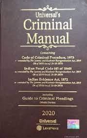 Universal's Criminal Manual