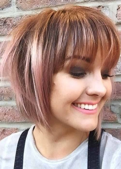 Extremely Short Bob With Bangs