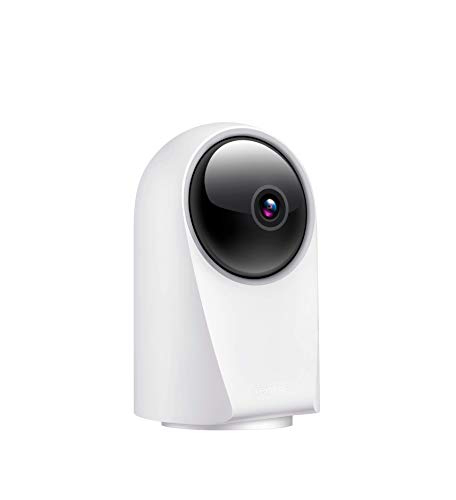 realme 360 Deg 1080p Full HD WiFi Smart Security Camera (White)