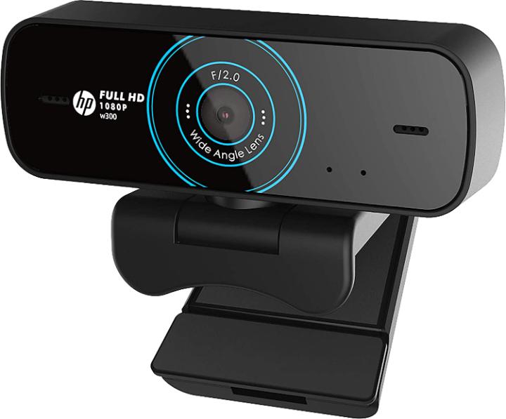 HP w300 1080p/30 Fps FHD Webcam