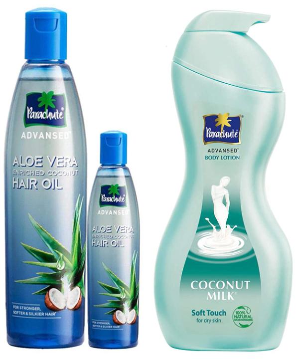 Parachute Advansed Aloe Vera Enriched Coconut Hair Oil