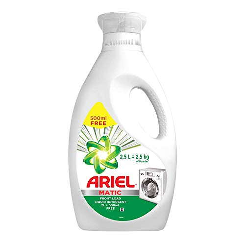 Ariel Matic Liquid Detergent Front Load 2 Ltr + 500 ML Free