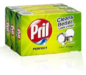 Pril Dishwash Bar 400 gm (Set of 3)