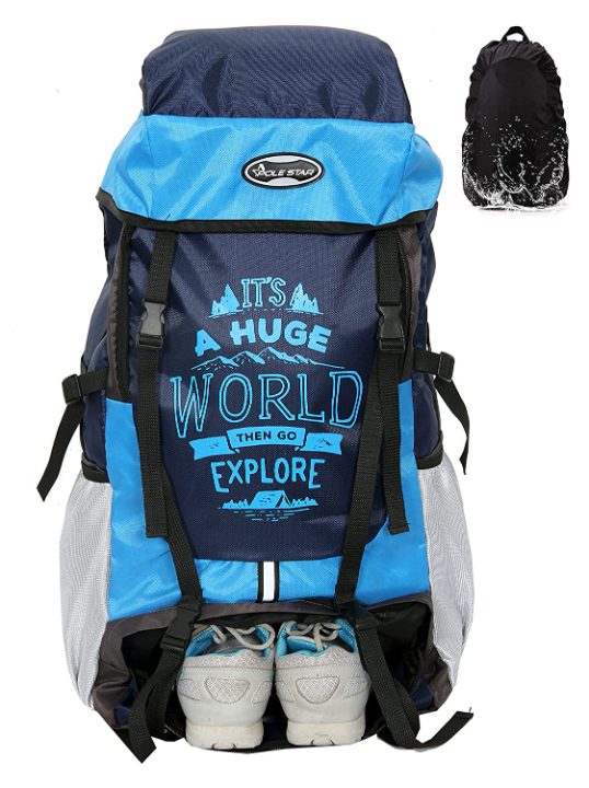 POLESTAR XPLORE Rucksack Hiking Backpack with Rain Cover