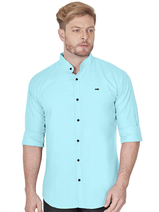 VeBNoR Men's Slim Fit Stylish Full Sleeve Shirts