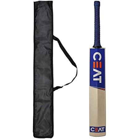 Ske New Solid Popular Willow Cricket Bat for All Tennis Balls Full Size