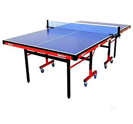 Amazon Brand Koxtons Table Tennis Table Max- 5000 , Blue, Best TT table for Home and Kids