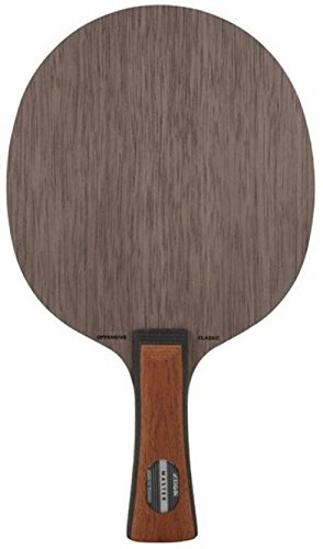 Stiga Offensive Classic Unstrung Table Tennis Blade, 86g (Multicolour)