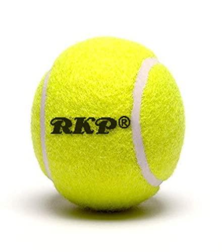 RKP Rubber Cricket/ Tennis Ball, (Yellow)