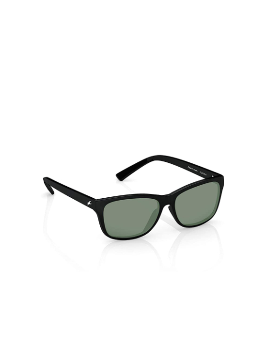 Fastrack Men Square Sunglasses Black Frame Black Lens