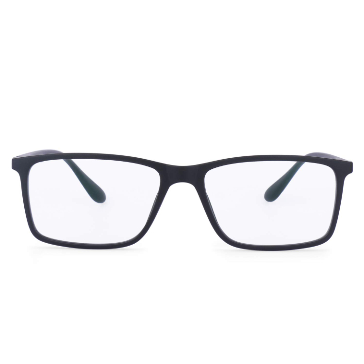 Intellilens Square Unisex Blue Cut Spectacle with Anti-glare for Eye Protection
