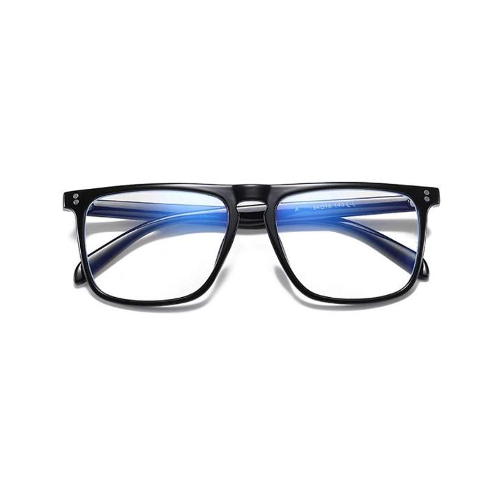 Elegante Blue Light Blocking Blue Cut anti-glare Square Eyeglasses