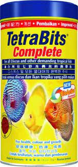 Tetra Bits Complete Fish Food for Growth and Health, 300g/1000ml
