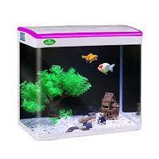JAINSONS PET PRODUCTS Fish Tank Mini Aquarium Combo (Colour May Vary, 9 L)