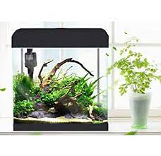 Despacito Aquarium Fish Tank Combo with Led Lighting and Filter Pump Aquarium Starter Kits Perfect for Small Fishes(Size: 36 * 22 * 38cm) (22 Litre)