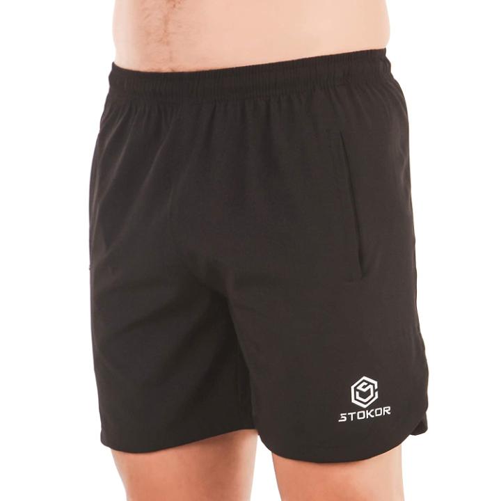 STOKOR Athleisure Men's Regular Fit Sports Shorts