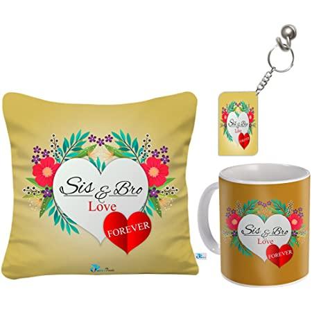 Sky Trends Ceramic Gifts for Sister On Raksha Bandhan (Multicolour)