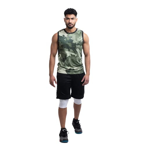 FIT MENTOR Men's Dry Fit Polyester Tank Top