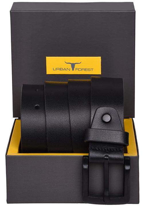 URBAN FOREST Men's Leather Belt