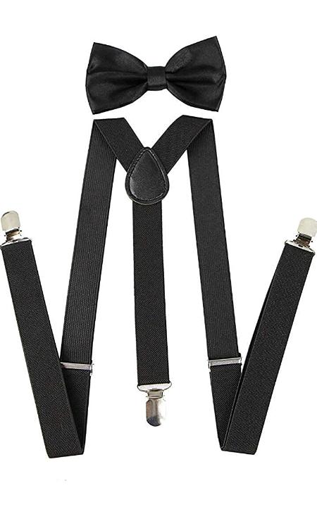 Skytouch Mens Suspender Belt & Bow