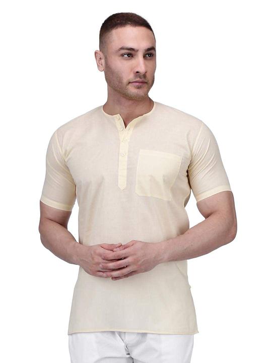 Rajubhai Hargovindas Men's Cotton Straight Kurta