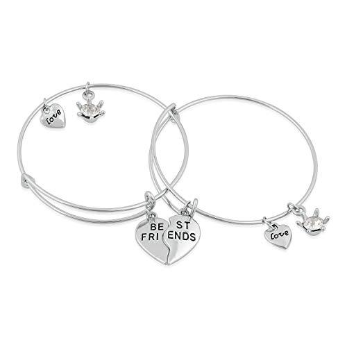 Mahi Funky Best Friends Love Bracelets for Girls and Women (PABRCO1100414PR)