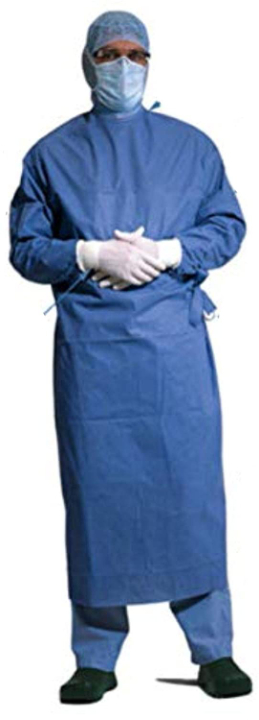 Wellcare PPE Non Woven 85 GSM Surgical Apron/Gown Suit