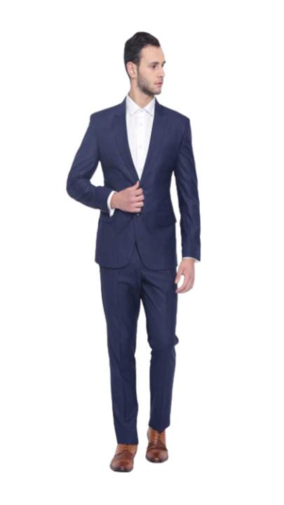 Dhingra Men's Slim Fit Single Breasted Suit