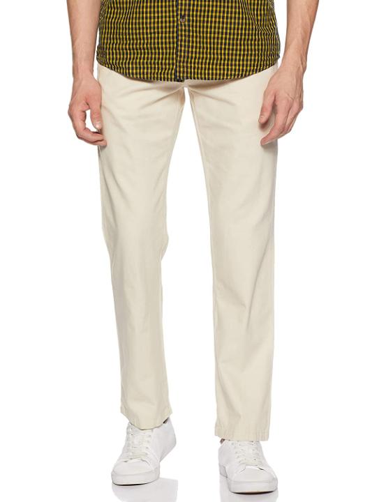 Amazon Brand - Symbol Men's Chino Regular Casual Trousers