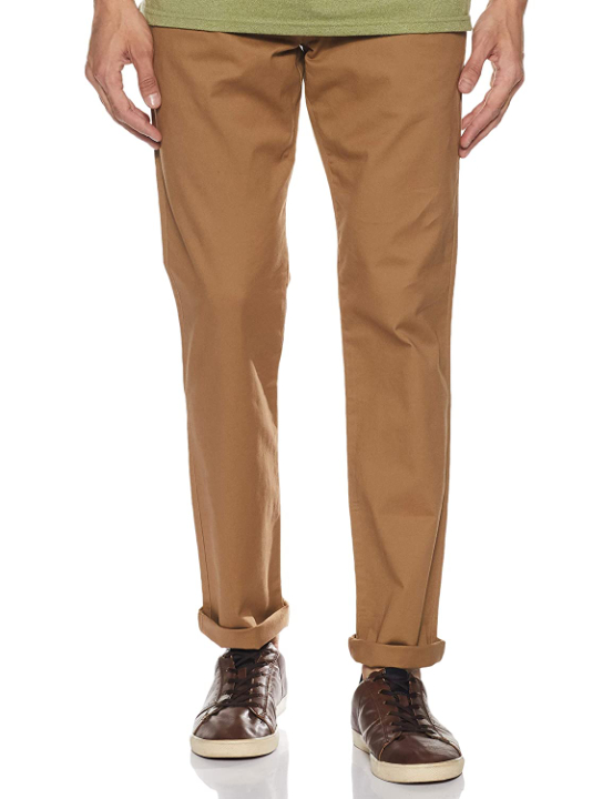 Amazon Brand - Inkast Denim Co. Men's Straight Fit Casual Trousers