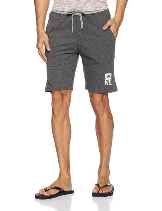 Amazon Brand - Symbol Men's Regular Cotton Blend Knit Lounge Shorts
