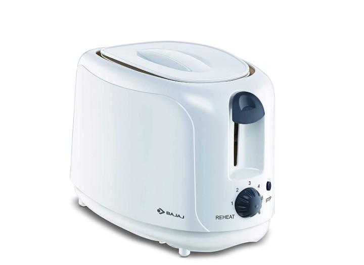 Bajaj ATX 4 750-Watt Pop-up Toaster (White)