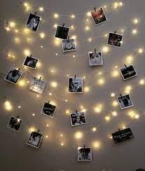 tu casa Copper Clip Photo Hanging Decorative String Light , Yellow