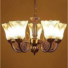 Prop It Up Chandelier Chandelier Light, Brown, Bronze Antique