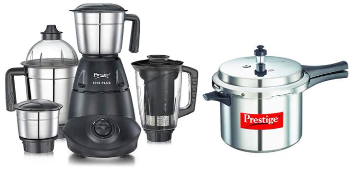 Prestige IRIS 750W Mixer Grinder with Pressure Cooker