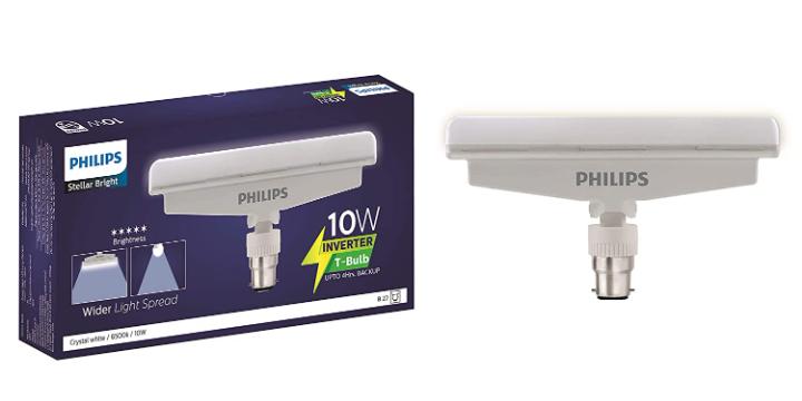 PHILIPS 10 Watt B22 LED White Bulb, Pack 1