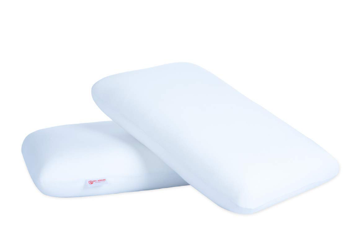 MY ARMOR Orthopedic Memory Foam Pillow for Comfortable Sleep, King Size (Pack of 2)