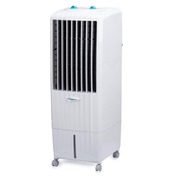 Symphony Diet 12T Personal Tower Air Cooler 12-litres, Multistage Air Purification, Honeycomb Cooling Pad, Powerful Air Throw (White)