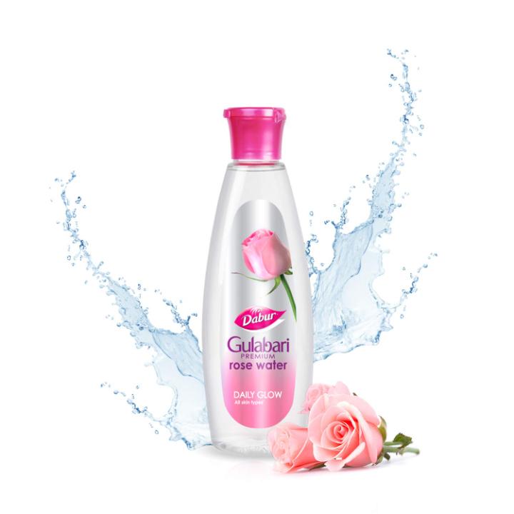 Dabur Gulabari Premium Rose Water – Natural, 400 ml