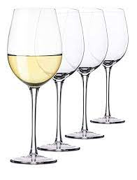 Crystalware Glass Wine Glass - 4 Pieces, Clear, 400 ml