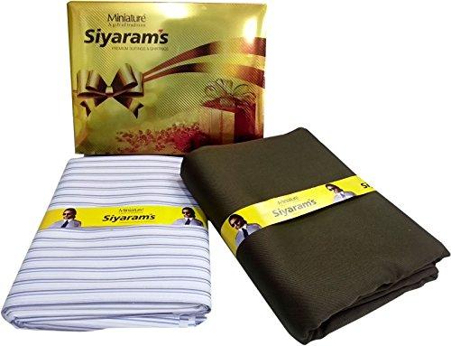 Siyaram's Men's Synthetic