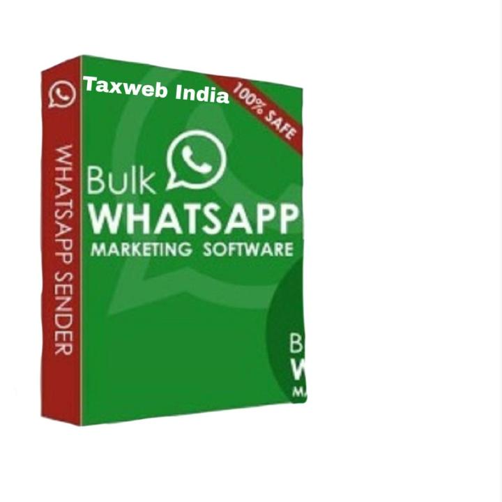 Taxweb India WhatsApp Bulk Message Sender Software