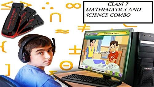 Heavenzr Technologies Class 7 COMBO (Mathematics And Science)